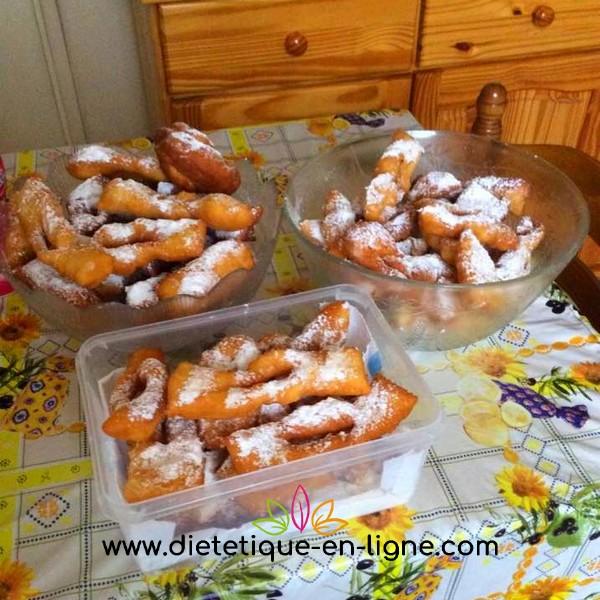 Oreillettes Provençales - Mardi gras mais pas trop