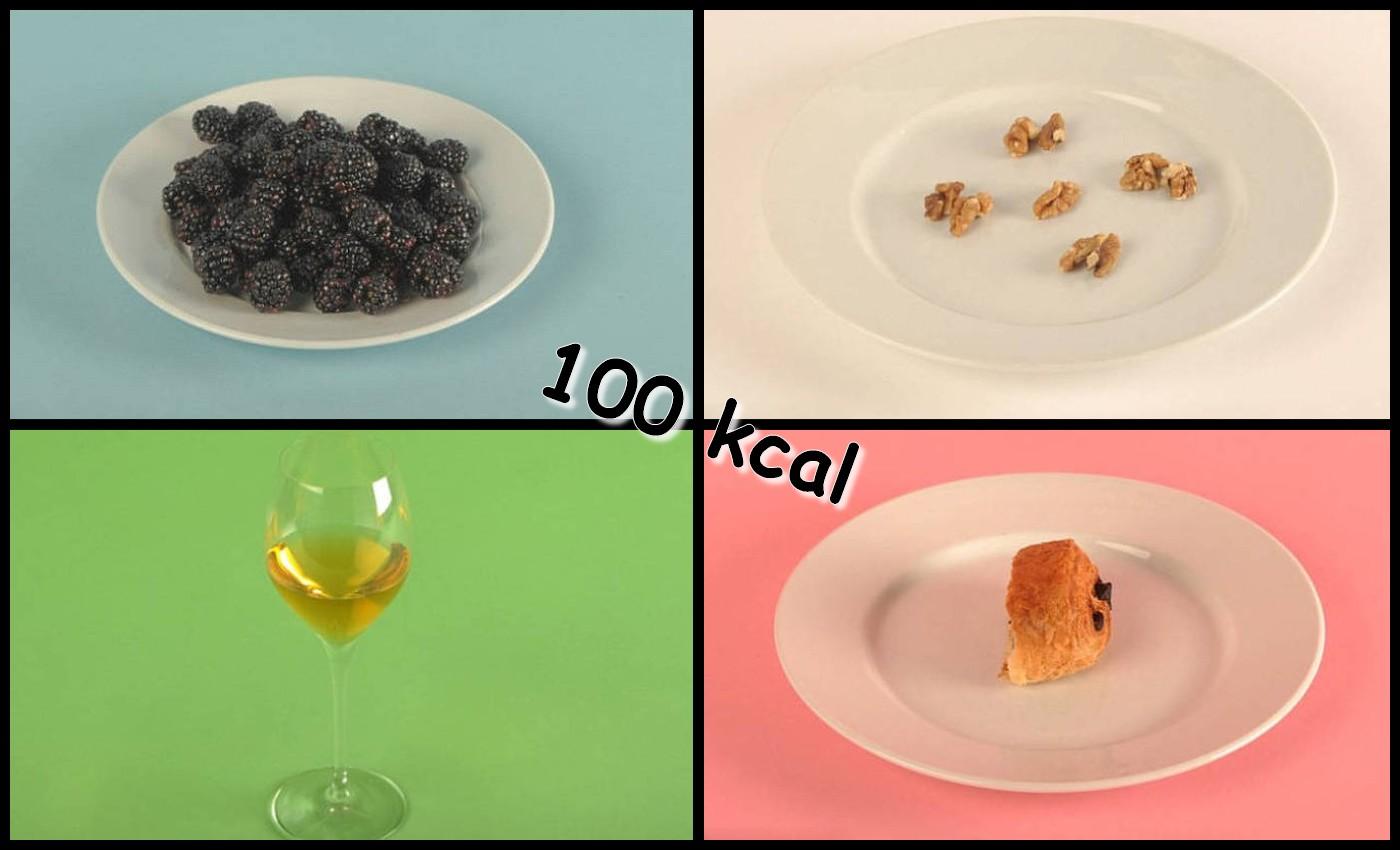 Aliments qui apportent 100 kcal