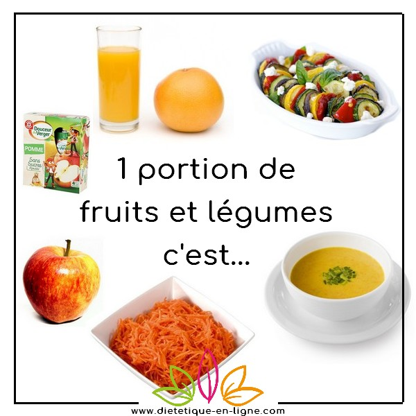 5 fruits et légumes par jour, possible !