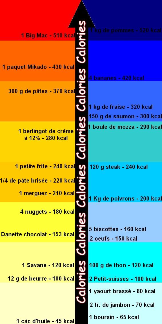 combien de calories par jour
