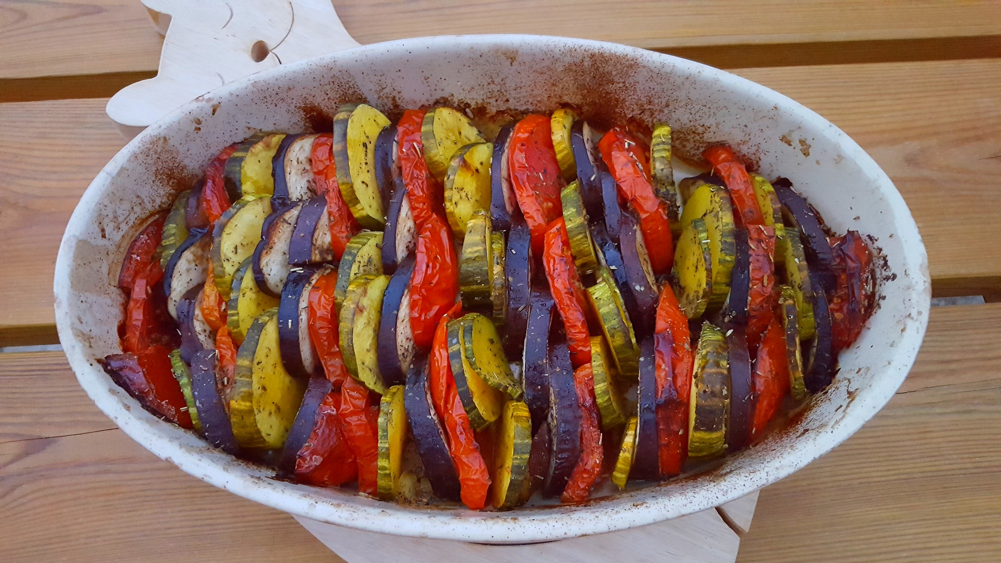 Tian de légumes provençal