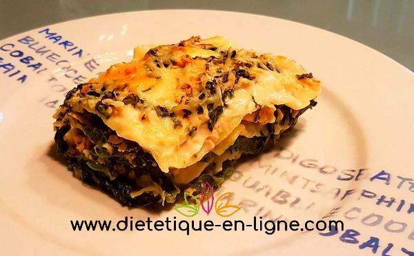 Recette Lasagnes Saumon Épinards