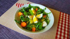 Recette Salade de Pommes de Terre forestière diététique