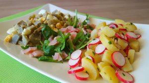 Recette Salade de Pommes de Terre paysanne diététique
