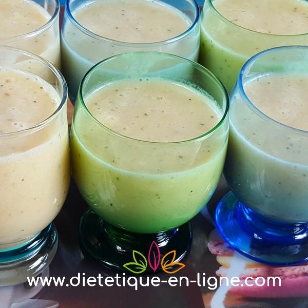 Recette Milkshake Vanille Pêche - Diététique En Ligne