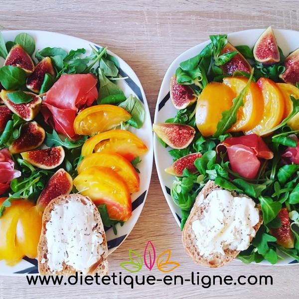 Recette Salade Figues Chèvre