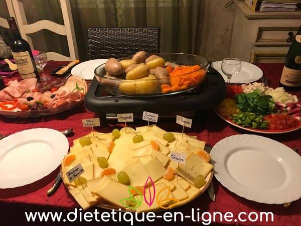 Raclette diététique - Anne