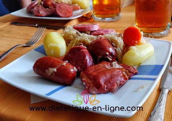 Recette Choucroute Alsacienne