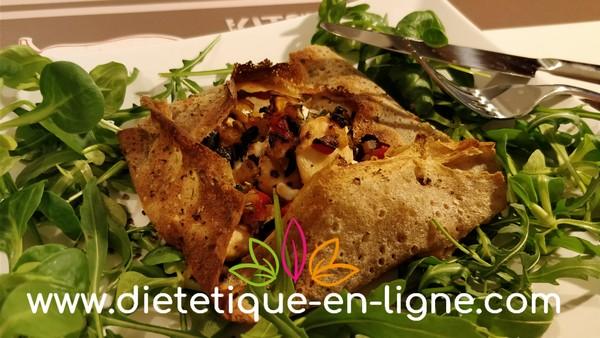Recette Crêpes Aux Légumes du Soleil - Diététique En Ligne