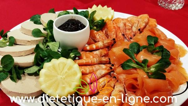 Bien manger pendant les fêtes en mangeant des fruits de mer