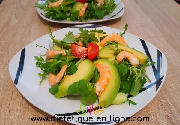 Recette Salade Avocat Crevettes