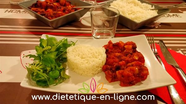 Recette Chili Sin Carne (Sans Viande) - Diététique En Ligne