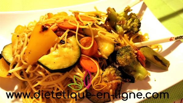 Recette Nouilles Sautées Aux Légumes