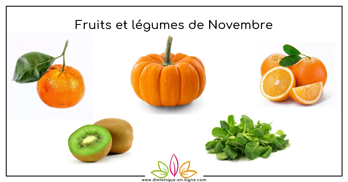 fruits et l gumes du mois de novembre di t tique en ligne. Black Bedroom Furniture Sets. Home Design Ideas