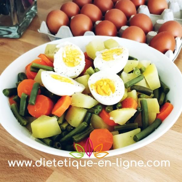 pommes de terre en salade - diététique en ligne