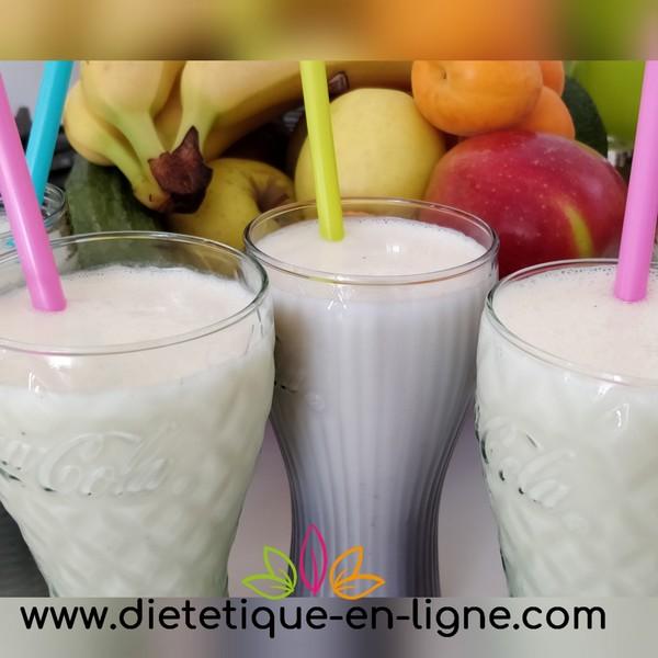 Recette Milkshake Banane - Recette Healthy - Diététique En Ligne