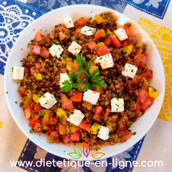 Salade de Lentilles Originale ! - Diététique En Ligne