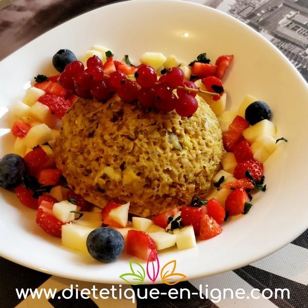 Bowlcake Protéiné - Flocons d'Avoine - Diététique En Ligne