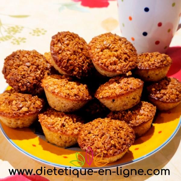 Flocons d'Avoine Recettes Muffin Diététique Petit-déjeuner
