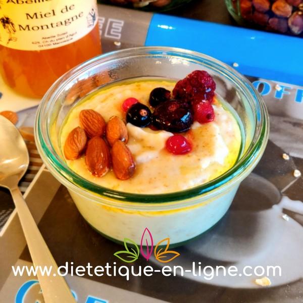 Flocons d'Avoine Régime - Bienfaits - Calories - Diétéique en Ligne - Porridge