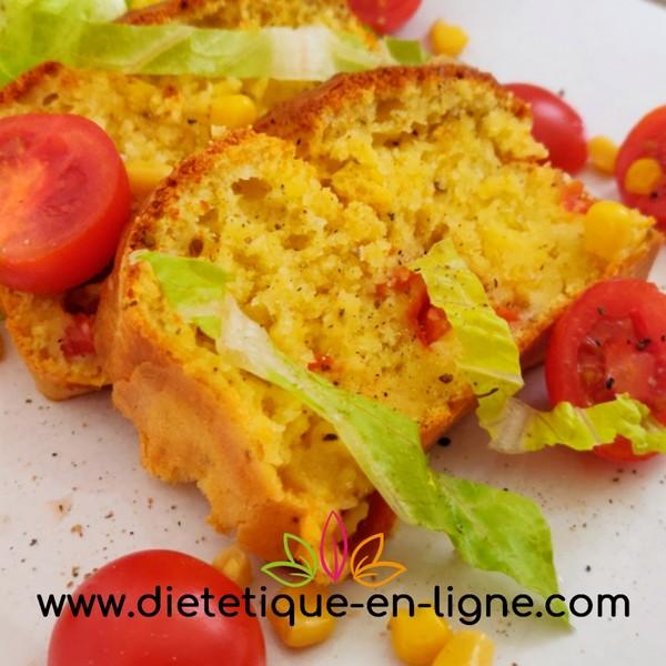 Cake Tomate Chèvre - Recette - Diététique En Ligne