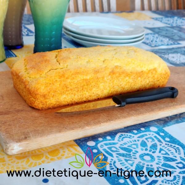 Cake au Citron sans Beurre et sans Sucre - Diététique En Ligne