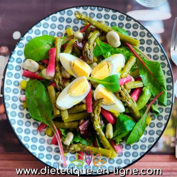 Salade Printanière - Recette Légère - Diététique En Ligne