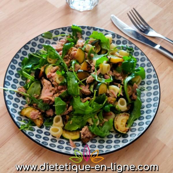 Salade de Pâtes Froide au Thon - Diététique En Ligne